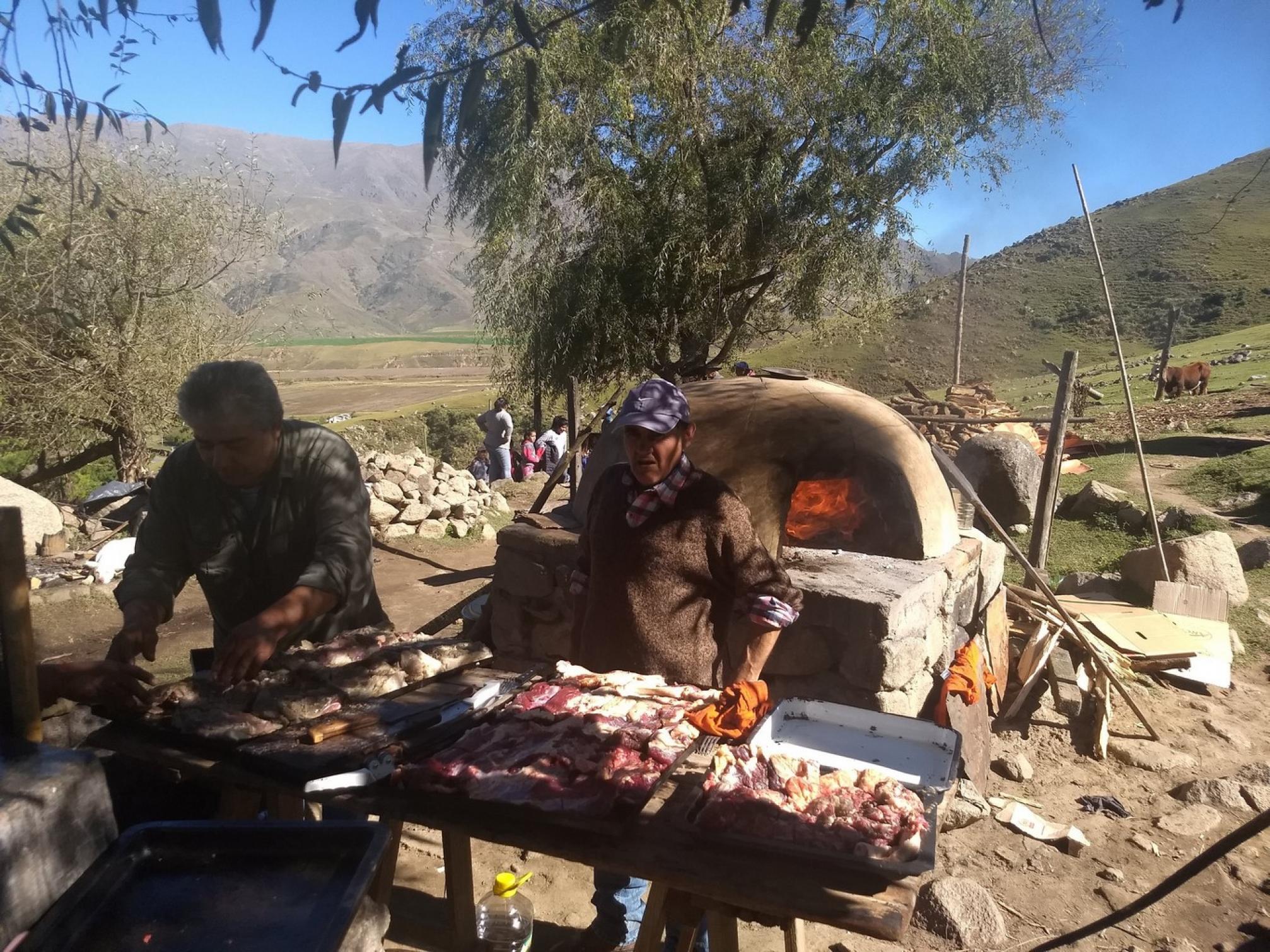 Fiesta, traición y trabajo: la yerra de los Cruz - Tafí del Valle