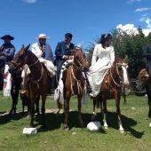 Casamiento de a caballo... el amor de los viejos tiempos en el siglo XXI - TafidelValle.com