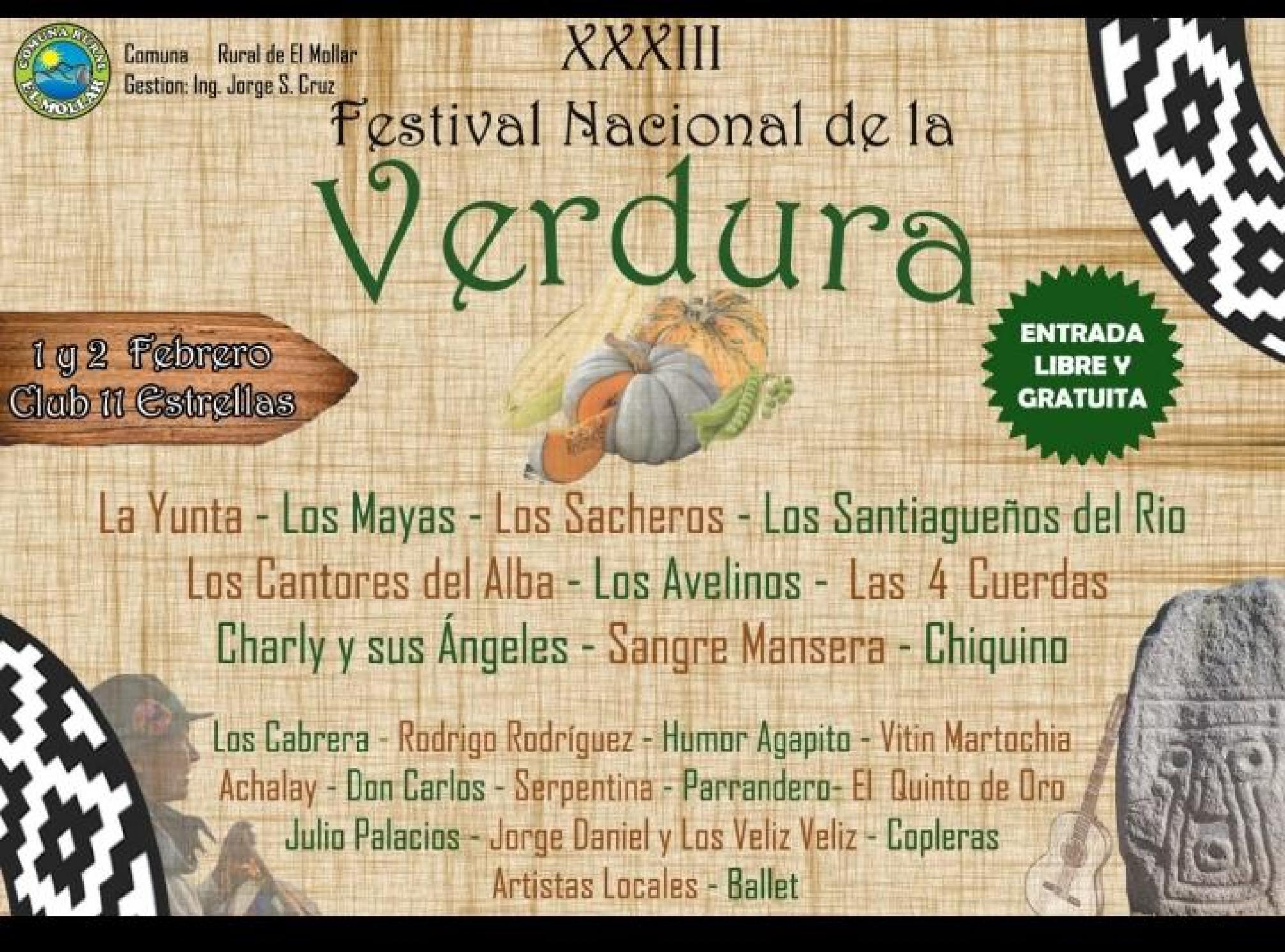 33º Fiesta Nacional de la Verdura
