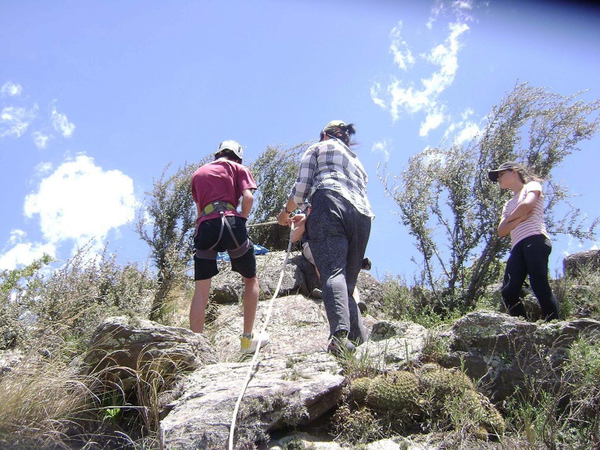 Trakking y Rappel - Adri y Fer Experiencias